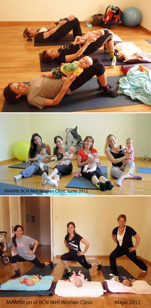 Classe gratuïta d'exercicis a MAMIfit