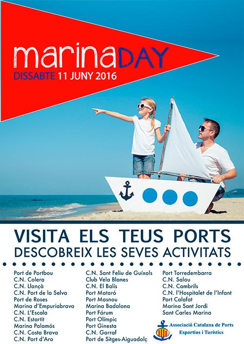Festa Marina Day als Ports Esportius de Catalunya