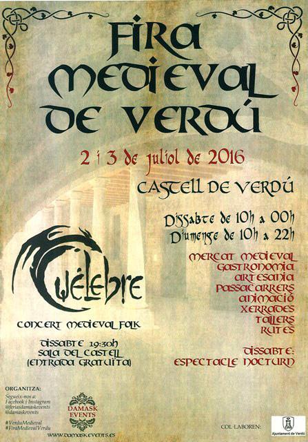 Fira Medieval de Verdú