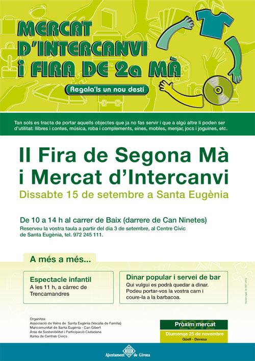 Mercats d'intercanvi de Girona