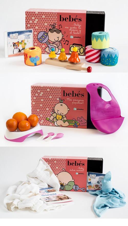 Caixetes Mimabox per a bebès