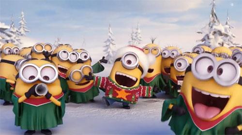 Els minions més divertits us desitgen bon Nadal!