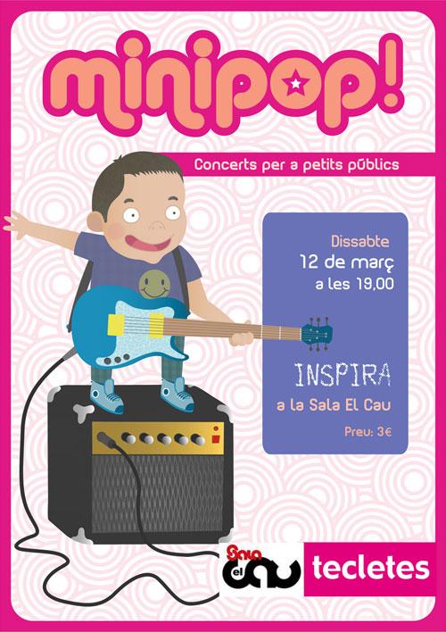 Minipop: cicle de concerts per a petits públics