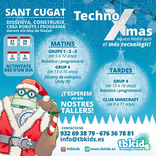 TechnoXmas, el Nadal més tecnològic a TBKids