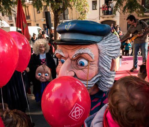 Festa infantil l'Home dels Nassos a Barcelona