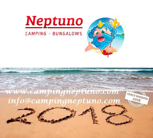 Descomptes amb reserva anticipada al Càmping Neptuno
