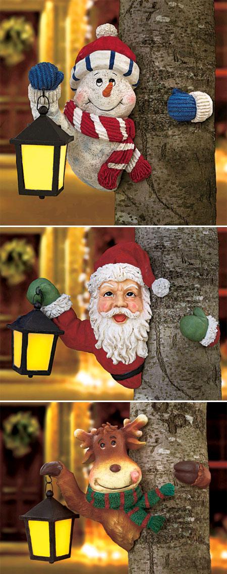 Figures nadalenques amb un fanalet