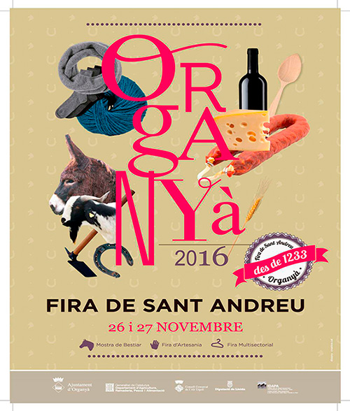 Fira de Sant Andreu a Organyà