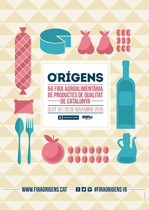 Orígens, Fira Agroalimentària de Productes de Qualitat de Catalunya, Olot