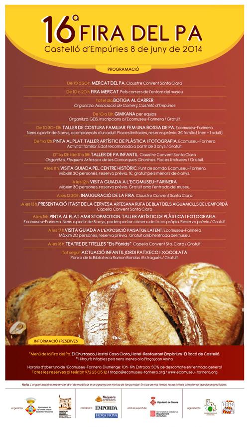 Fira del pa de Castelló d'Empúries