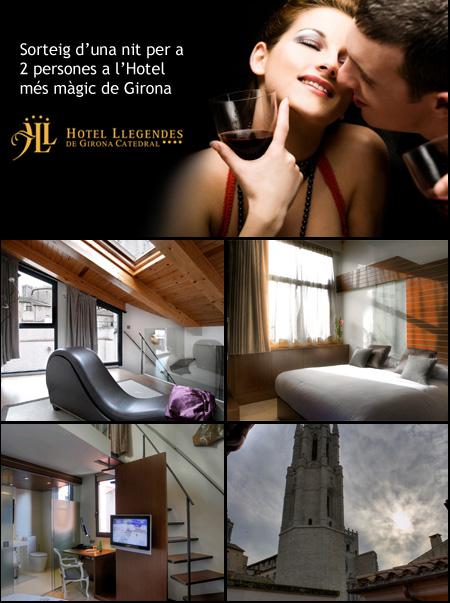 Sorteig pack romàntic Hotel Llegendes