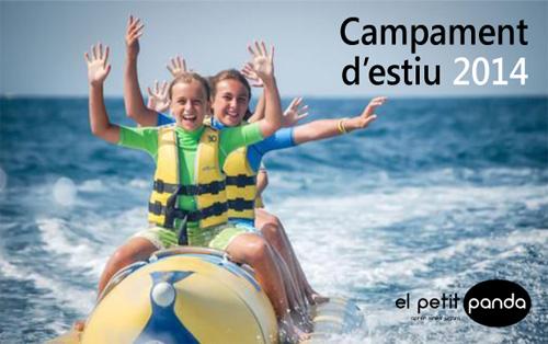 Campament d'estiu El Petit Panda 2014