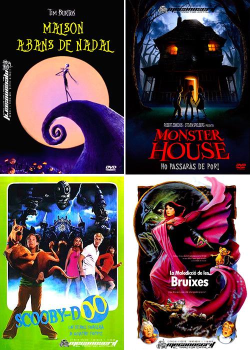 Pel·lícules de terror que pots veure amb els nens