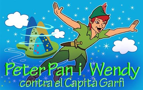 Peter Pan i Wendy…contra el Capità Garfi' arriba al Guasch Teatre