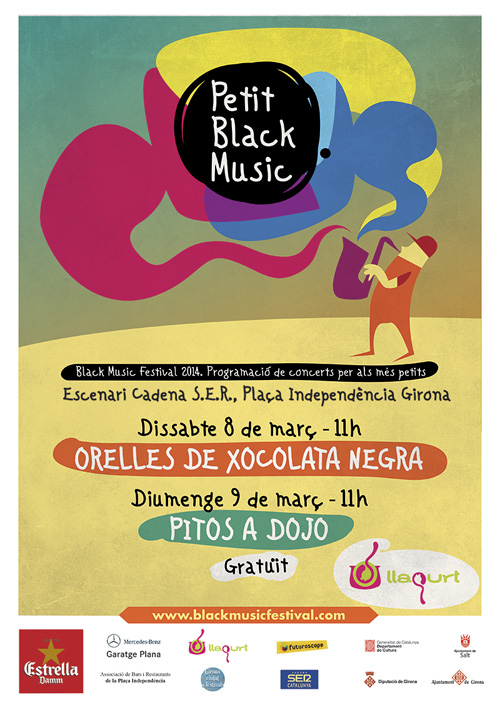 Petit Black Music a Girona