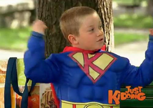 Un petit Superman?