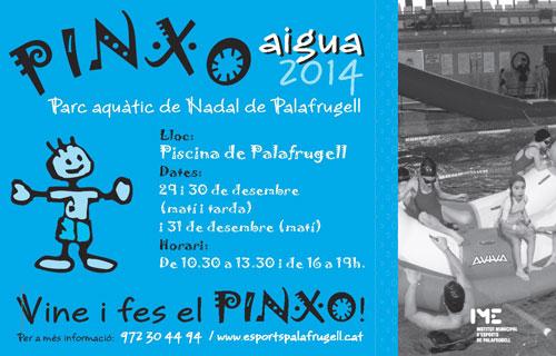 Pinxo Aigua. Parc aquàtic de Nadal a Palafrugell