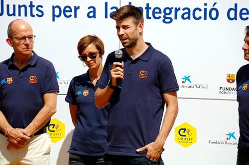Gerard Piqué inaugura un camp de futbol a Sant Guim de Freixenet per fomentar valors entre infants i joves vulnerables