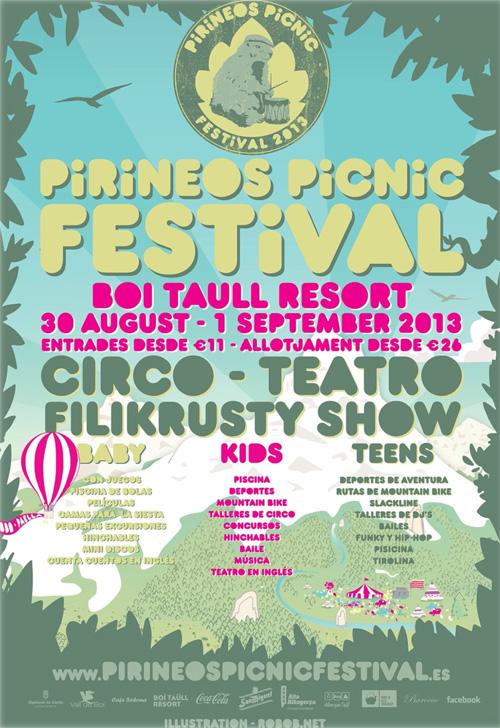 Pirineus Picnic Festival a Boí Taà¼ll Resort