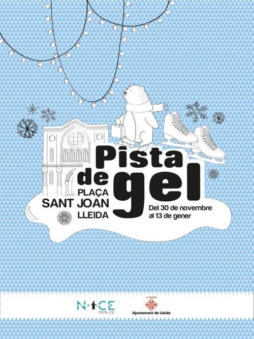 Pista de Gel de la plaça Sant Joan a Lleida