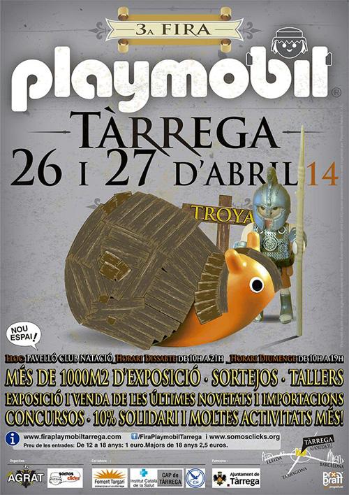 3a Fira Playmobil a Tàrrega