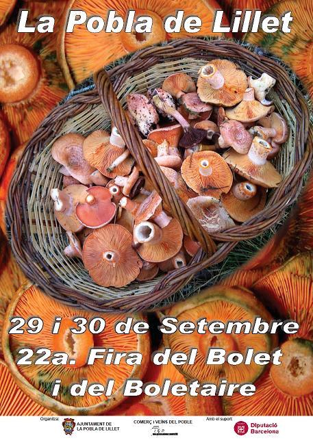 Festa del Bolet i del Boletaire a La Pobla de Lillet