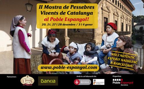 Mostra Pessebres Vivents al Poble Espanyol