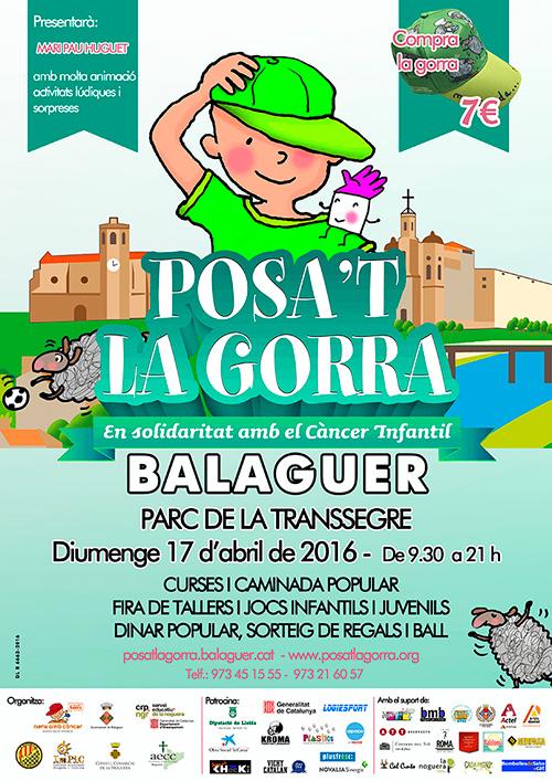 Jornada 'Posa't la gorra' a Balaguer