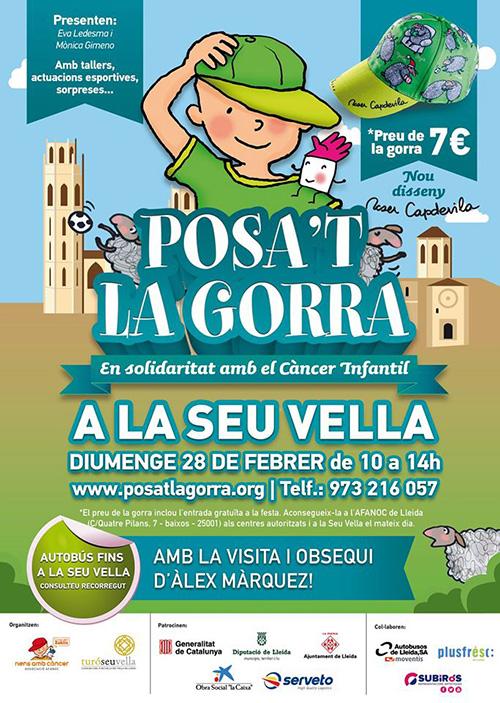 Posa't la Gorra a la Seu Vella de Lleida