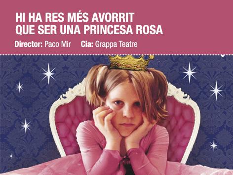 Guanyadors de les entrades per 'Hi ha res més avorrit que ser una princesa rosa?'