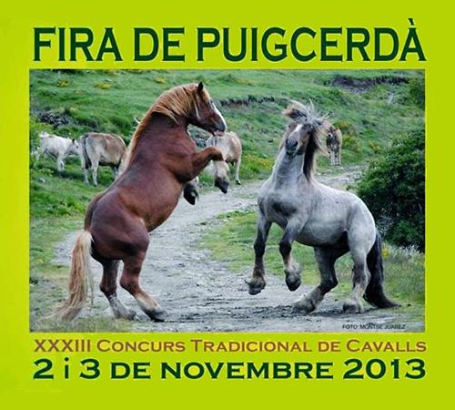 Fira de Puigcerdà: XXXIII Concurs Tradicional de Cavalls