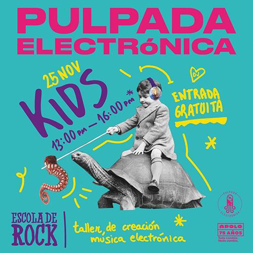 Pulpada Electrònica a Barcelona