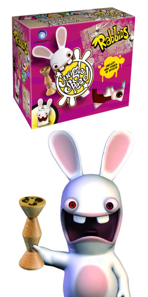El nou joc de 'Jungle Speed Rabbids'