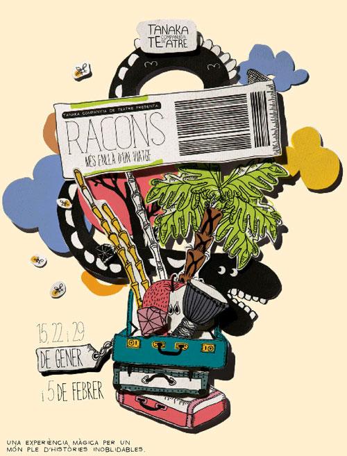 Promoció Estrena de 'Racons' al Teatre Poliorama