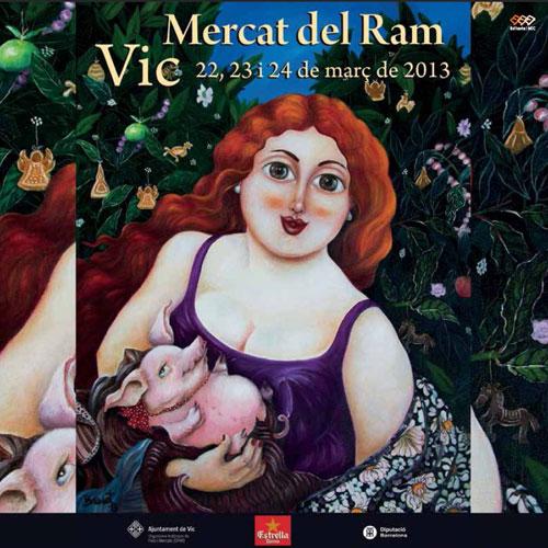 Mercat del Ram de Vic 2013