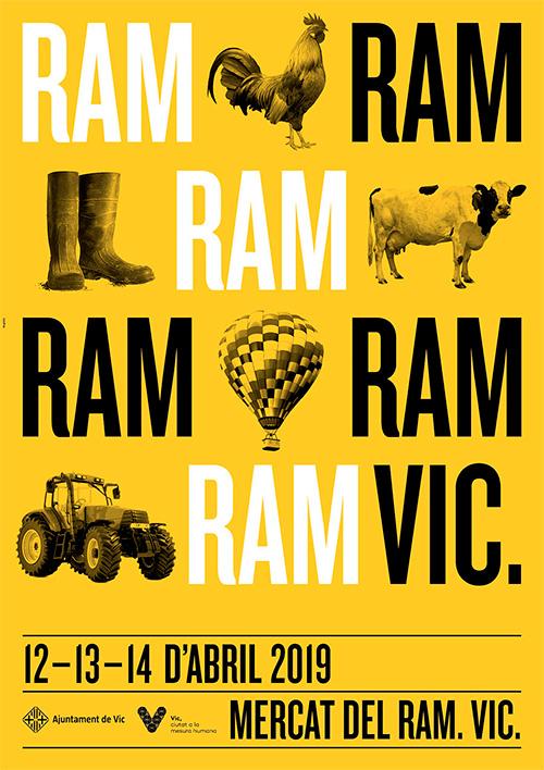 Mercat del Ram a Vic