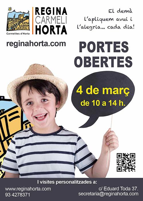 Jornada de Portes Obertes de l'Escola Regina Carmeli Horta