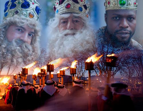 Els Reis d'Orient a Vic