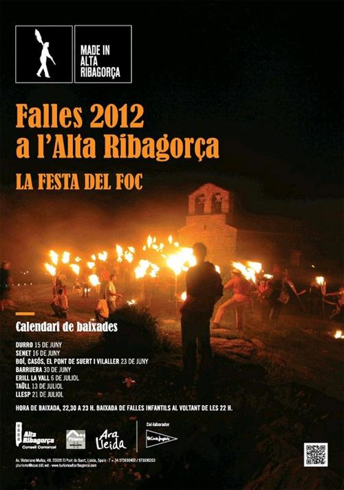 Falles 2012 a l'Alta Ribagorça