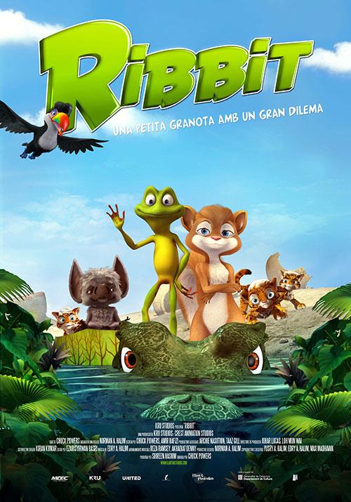Ribbit, una petita granota amb un gran dilema