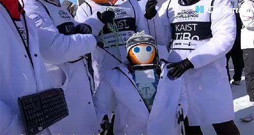 Slalom de robots als Jocs Olímpics de Seúl