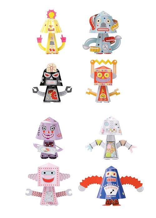 Robots de paper