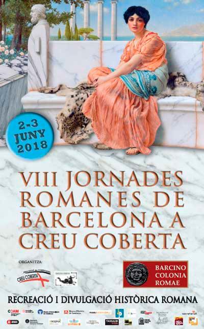 Fira romana al carrer Creu Coberta, Barcelona