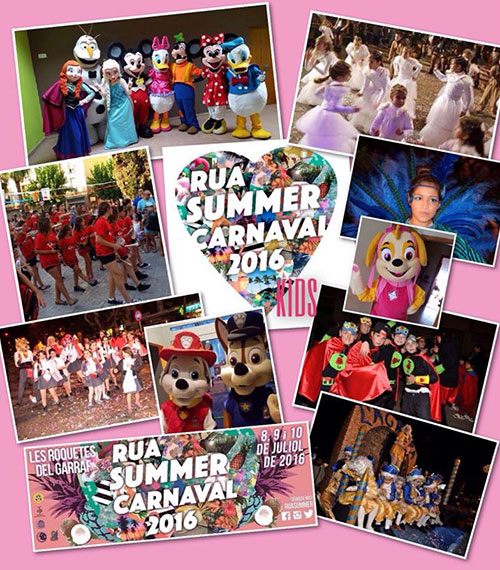 Rua Summer Carnaval Kids a Sant Pere de Ribes