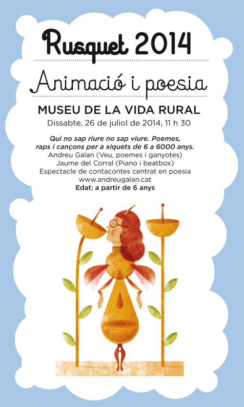 Rusquet, Festival de poesia per a infants a l'Espluga de Francolí