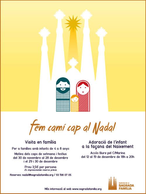 Activitats de Nadal a la Sagrada Família