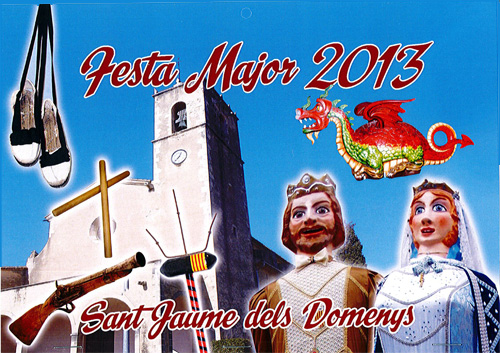 Festa Major a Sant Jaume dels Domenys