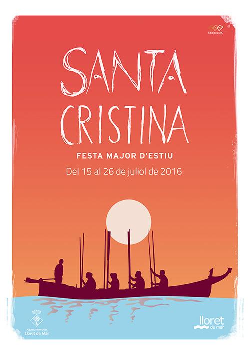 Festa Major de Santa Cristina a Lloret de Mar