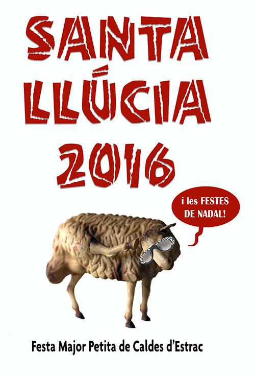 Festa major petita de Caldes d'Estrac, Santa Llúcia