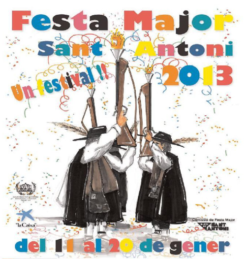 Festa Major de Sant Antoni a Barcelona